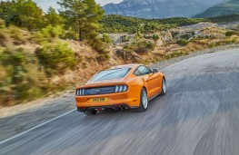 Ford Mustang, 2018, rear, action