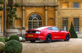 Ford Mustang Fastback, rear, static