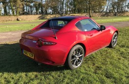 Mazda MX-5 RF, 2017, rear, roof up