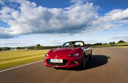 Mazda MX-5 2015, front, action