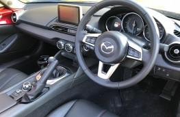 Mazda MX-5 RF, 2017, interior