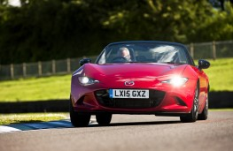 Mazda MX-5 2015, nose, action