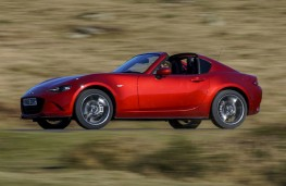 Mazda MX-5 RF, side, action