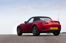 Mazda MX-5 2015, rear, hood up