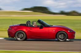 Mazda MX-5 2015, side, action