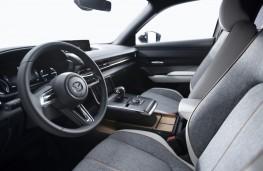 Mazda MX-30 prototype, 2019, dashboard