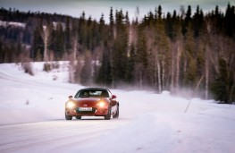 Mazda MX-5, Arctic drive 2019, front, action