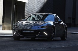 Mazda MX-5 RF, 2017, front, action