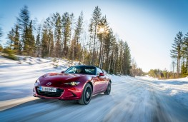 Mazda MX-5, Arctic drive 2019, front, forest
