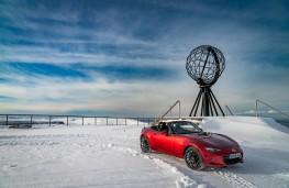 Mazda MX-5, Arctic drive 2019, at Nordkapp