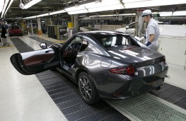 Mazda MX-5 RF, 2017, Hiroshima production line