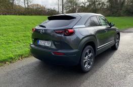 Mazda MX-30, 2020, rear