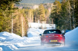 Mazda MX-5, Arctic drive 2019, rear, forest