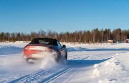 Mazda MX-5, Arctic drive 2019, rear, road