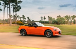 Mazda MX-5 30th Anniversary Edition, 2019, side, action