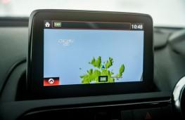 Mazda MX-5, Arctic drive 2019, sat nav