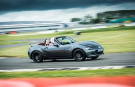 Mazda MX-5 Z-Sport, 2018, side, cornering