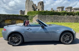 Mazda MX-5 R-Sport, 2021, side, roof down