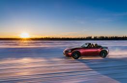 Mazda MX-5, Arctic drive 2019, side, sun