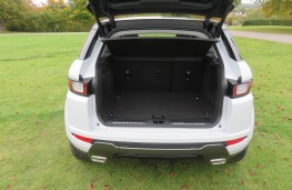 Land Rover Evoque, boot