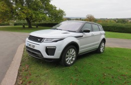 Land Rover Evoque, front