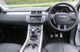 Land Rover Evoque, interior
