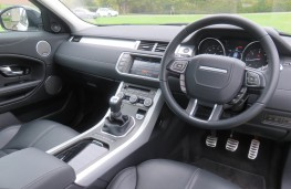 Land Rover Evoque, interior