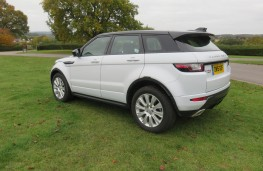Land Rover Evoque, rear