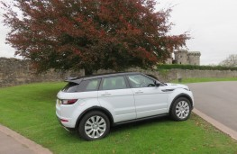 Land Rover Evoque, side