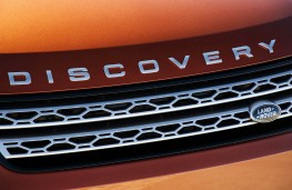 Land Rover Discovery, 2017, bonnet badge