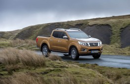 Nissan Navara, 2016, side