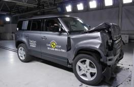 Land Rover Defender, Euro NCAP, 2020, crash test