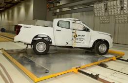 Isuzu D-Max, Euro NCAP, 2020, crash test