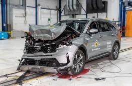 Kia Sorento, Euro NCAP, 2020, crash test