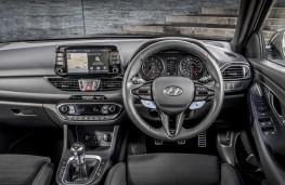 Hyundai i30 N Performance, 2017, dashboard