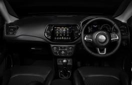 Jeep Compass Night Eagle, 2020, dashboard