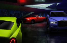 Rolls-Royce Neon Nights models