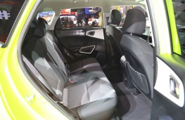 New Kia Soul EV rear seats