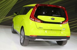 New Kia Soul EV rear