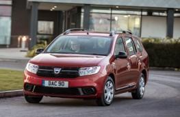 Dacia Logan MCV, front