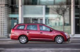 Dacia Logan MCV, side