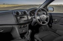 Dacia Sandero, interior