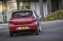 Dacia Sandero, rear