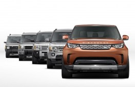 Land Rover Discovery 2016 - five generations