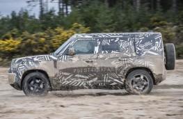 New Land Rover Defender LWB side