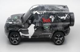 New Land Rover Defender short wheelbase