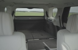 New Land Rover Discovery seats folded