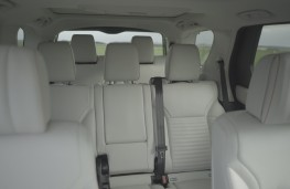 New Land Rover Discovery seats upright