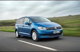 Volkswagen Touran, front