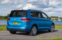 Volkswagen Touran, rear